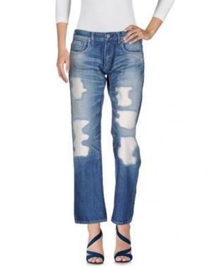 Джинсовые брюки JUNYA WATANABE. Цвет: синий