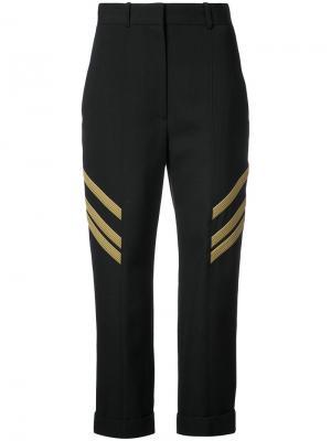 High waisted cropped trousers Vera Wang. Цвет: чёрный