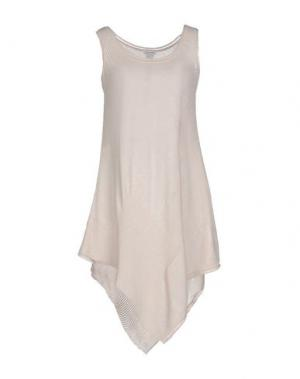 Короткое платье RE.SET. Цвет: бежевый