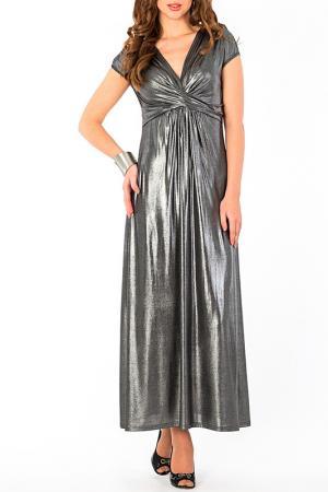 Платье S&A style. Цвет: серебряный