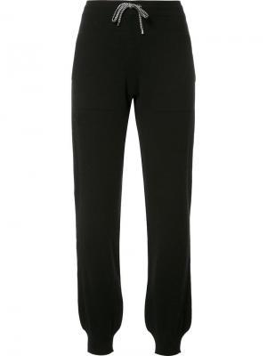 Спортивные брюки с эластичным поясом Barrie. Цвет: чёрный