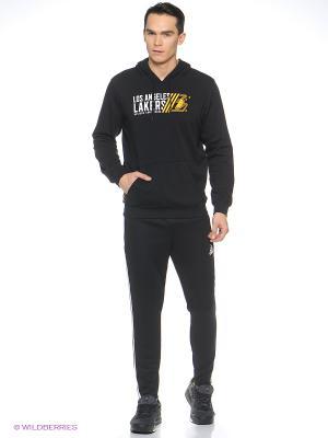 Худи Мужская Basics Po Hoody Adidas. Цвет: черный, желтый