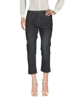 Повседневные брюки PENCE. Цвет: свинцово-серый