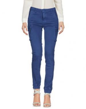 Повседневные брюки ATELIER FIXDESIGN. Цвет: грифельно-синий