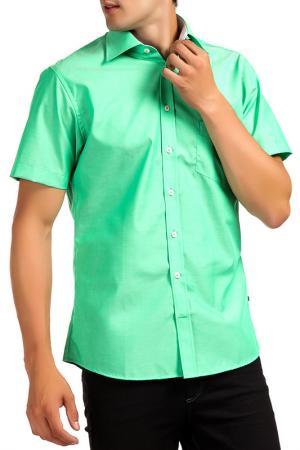 Рубашка Pure. Цвет: зеленый