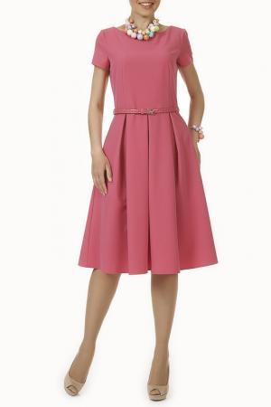 Платье Argent. Цвет: розовый