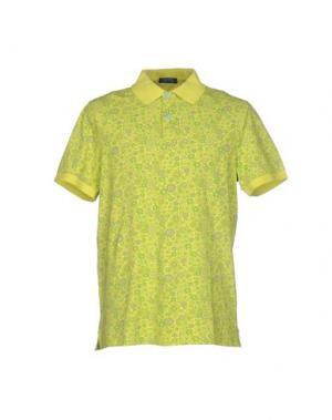 Поло DIMATTIA. Цвет: кислотно-зеленый