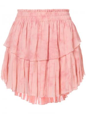 Ruffled mini skirt Love Shack Fancy. Цвет: none