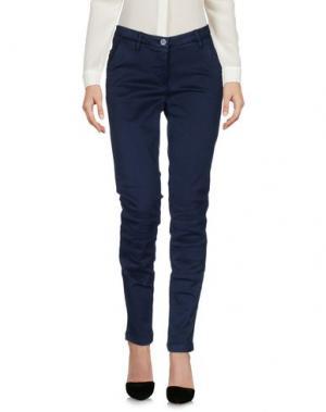 Повседневные брюки SHAFT. Цвет: темно-синий