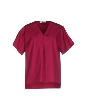 Блузка N_8. Цвет: пурпурный