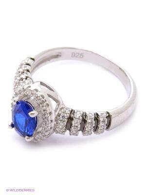 Кольцо BALEX. Цвет: серебристый, синий