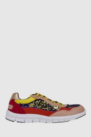 Кроссовки Dolce&Gabbana. Цвет: multicolor