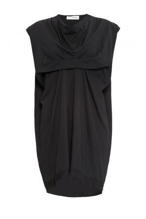 Трикотажное платье из хлопка 161051 Un-namable. Цвет: черный