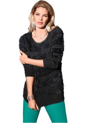 Пуловер Maria Bellesi. Цвет: черный