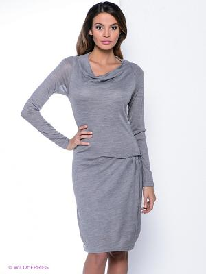 Платье Natali Silhouette. Цвет: серый