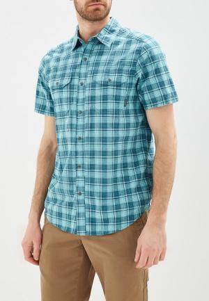Рубашка Columbia. Цвет: зеленый