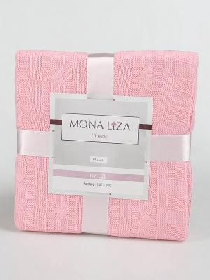 Плед Monet Mona Liza Classic розовый. Цвет: розовый