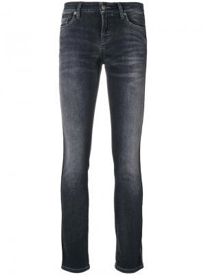 Liu cropped jeans Cambio. Цвет: чёрный