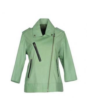 Куртка ENES. Цвет: светло-зеленый