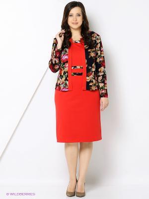 Комплект одежды Полина. Цвет: красный