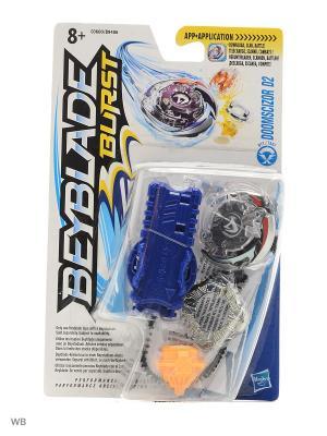 Бейблэйд: Волчок с пусковым устройством Hasbro. Цвет: серый