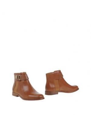Полусапоги и высокие ботинки AERIN. Цвет: коричневый