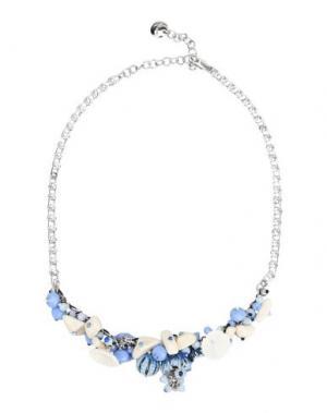 Ожерелье LA HORMIGA. Цвет: небесно-голубой