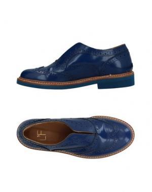 Обувь на шнурках L'F SHOES. Цвет: синий