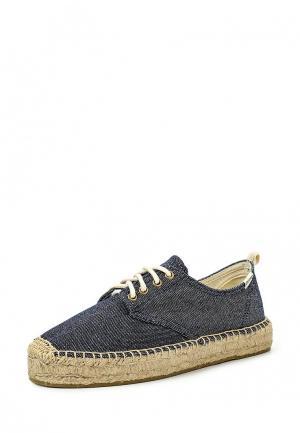 Ботинки Soludos. Цвет: синий