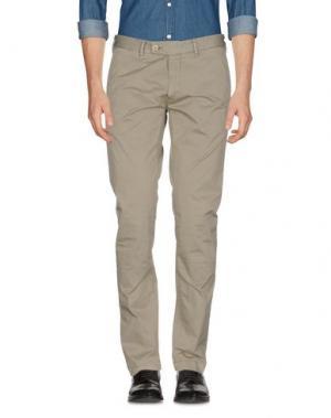 Повседневные брюки PERFECTION. Цвет: зеленый-милитари