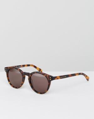 Marc Jacobs Круглые солнцезащитные очки By. Цвет: коричневый