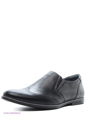 Туфли Riconte. Цвет: черный