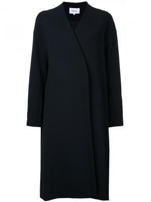 Однобортное пальто Enföld. Цвет: чёрный