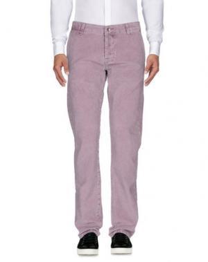 Повседневные брюки PT05. Цвет: сиреневый