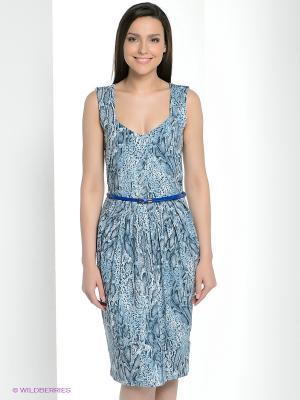 Платье Vaide. Цвет: голубой