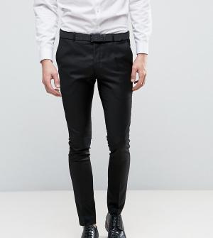 Heart & Dagger Черные суперузкие брюки. Цвет: черный