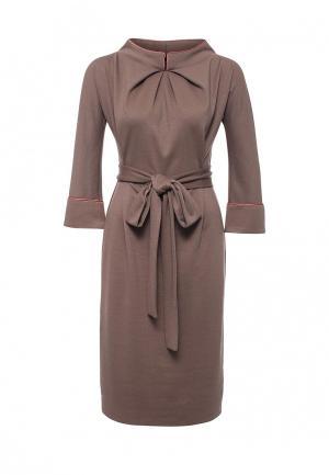 Платье Alina Assi. Цвет: бежевый