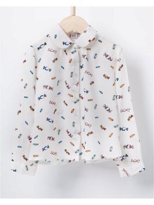 Блузка INCITY. Цвет: желтый