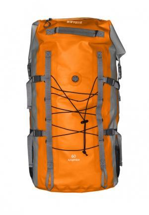 Рюкзак 60л Novatour. Цвет: оранжевый