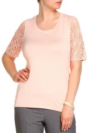 Пуловер RITA PFEFFINGER. Цвет: розовый