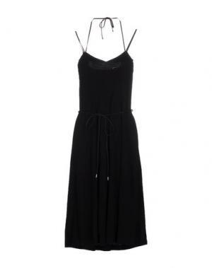 Платье до колена J. LINDEBERG. Цвет: черный