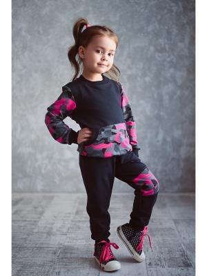 Костюм детский LFC. Цвет: черный, розовый, серый