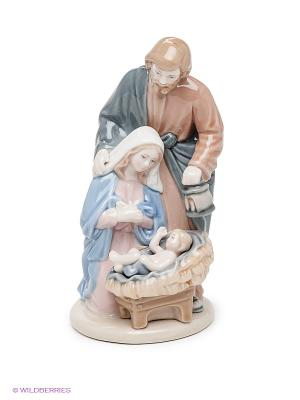 Композиция Рождество Христово Pavone. Цвет: серый, бледно-розовый, голубой, светло-коричневый