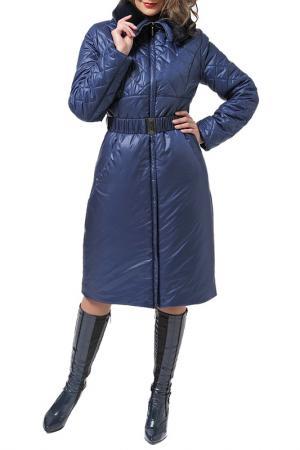 Пальто DizzyWay. Цвет: синий