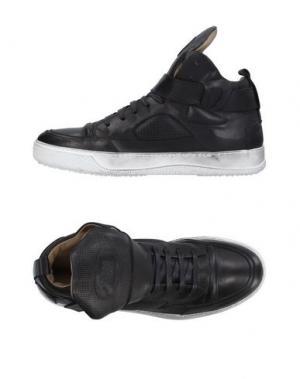 Высокие кеды и кроссовки CANDICE COOPER. Цвет: черный