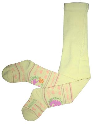 Колготки 1 пара Master Socks. Цвет: желтый