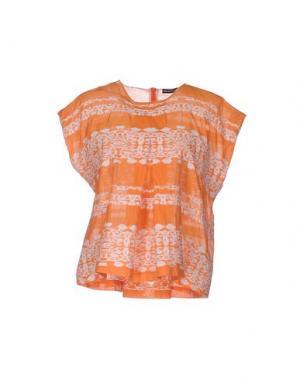 Блузка NEW YORK INDUSTRIE. Цвет: оранжевый