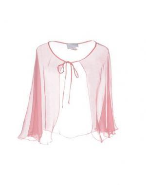 Накидка LUISA BECCARIA. Цвет: розовый