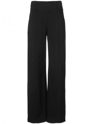 Расклешенные брюки A.L.C.. Цвет: чёрный