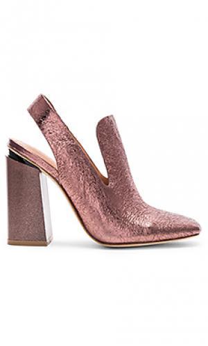 Туфли на каблуке janet Sigerson Morrison. Цвет: металлический медный